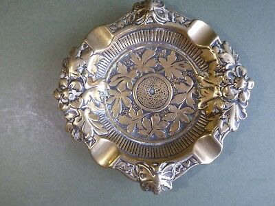 Superb Orig Antique 19thc Aesthetic Movement Silver Brooch-secret Compartment Antiques