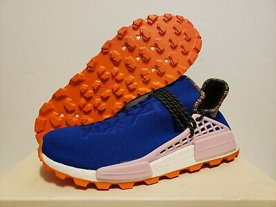 63d02fedd Adidas x Pharrell NMD Human Race Trail Inspiration Pack BLUE ORANGE Size 13