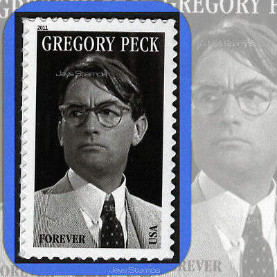 2011 GREGORY PECK 17th Legends of Hollywood  MINT Single Forever® Stamp  # 4526