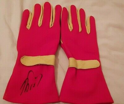 Alain Prost Hand Signed  Race Gloves World Champion $1 No Reserve