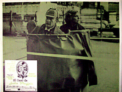 ALL DETECTIVES & SPIES /They Might Be Giants/George C/1971/MEXICAN LOBBY CARD/An