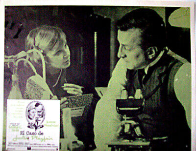 ALL DETECTIVES & SPIES /They Might Be Giants/George C/1971/MEXICAN LOBBY CARD/A
