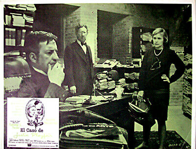 ALL DETECTIVES & SPIES /They Might Be Giants/George C/1971/MEXICAN LOBBY CARD/