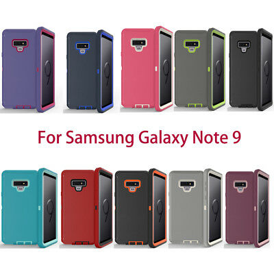 Protective Defender Case For Samsung Galaxy Note 9 Wholesale 10X / Lot  Mixcolor