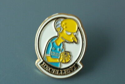 Manchester City Football Club Pin Badge  (Mr Burns -Excellent)