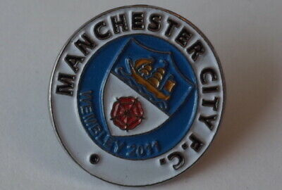 """Manchester City Football Club Pin Badge """"crest  Style"""""""