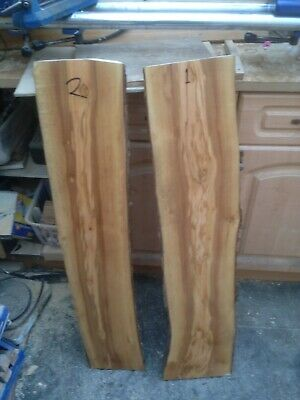 Two Lightly Grained Italian Olivewood Boards