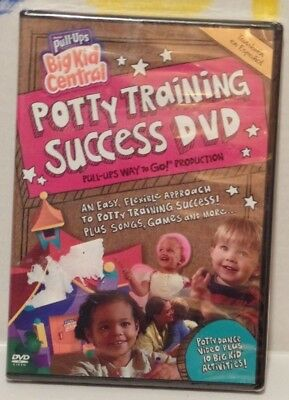 Huggies Pull Ups Big Kid Central Potty Training Success DVD English & Spanish