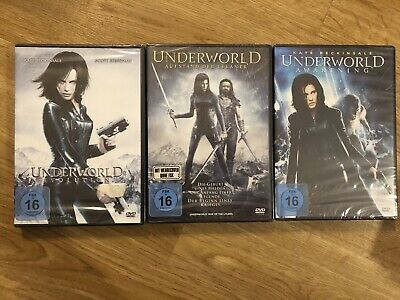 ** Underworld - Teil 1+2+3 DVD Set - NEU/OVP **
