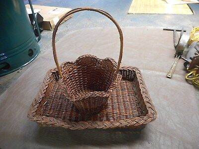 Decorative Baskets   Arts  Crafts   Collectible   Hobby   Holiday   Serving Tray