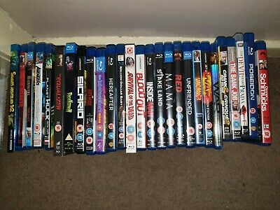Bundle, Joblot, Collection Of 29 Blu Rays (please read description)
