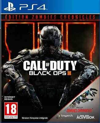 COD Call Of Duty Black Ops 3 Zombies Chronicles Edition Sony PS4 Playstation 4