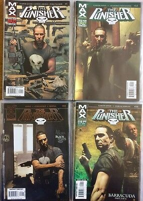 The Punisher (MAX) Ongoing #1-42  (Ennis/Dillon)