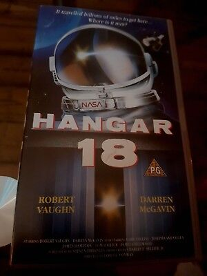 Hangar 18 Uk Pal Vhs Cassette