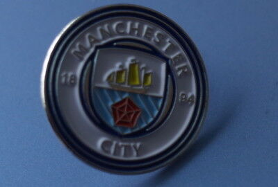 MANCHESTER CITY FOOTBALL CLUB PIN BADGE (Crest)