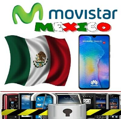 Movistar Mexico Huawei Mate 10 Lite Y7 P20 P8 P Smart P9 Unlock Code All Devices