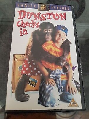 Dunston Checks In Vhs Pal Cassette  1995