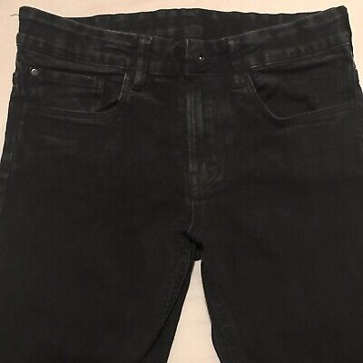 H&M Boys Black Skinny Fit Jeans Size 10-11yrs