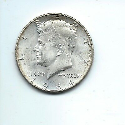1964-D - KENNEDY HALF DOLLAR - Uncirculated - Combined Shipping