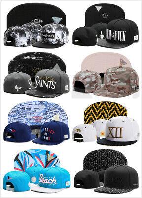 Hip Hop Men/'s CAYLER Sons Hat adjustable Baseball Snapback Black Street cap US