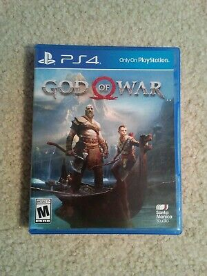 God of War (Sony PlayStation 4 2018) PS4 Pristine Condition