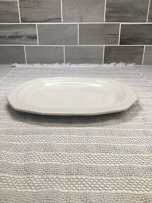 pfaltzgraff heritage white Small Meat Or Relish Platter
