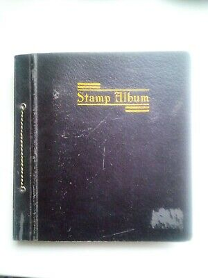 Old Stamp Album With +1400  Stamps