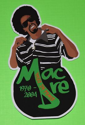 Mac Dre UV Proof Vinyl Sticker~Thizz~Bay Area~Gangsta Rap