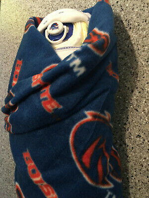 Boise State Rookie Athletics Swaddle Baby Diaper Cake