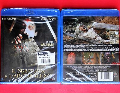 blu ray disc il serpente e l'arcobaleno the serpent and the rainbow wes craven v