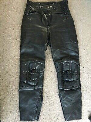 Ashman ladies leather motorcycle trousers - Size 14