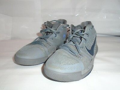 new style 039cb 4f828 Nike Boys Sz 5.5Y Kyrie Irving Gray Sneaker Basketball Shoes
