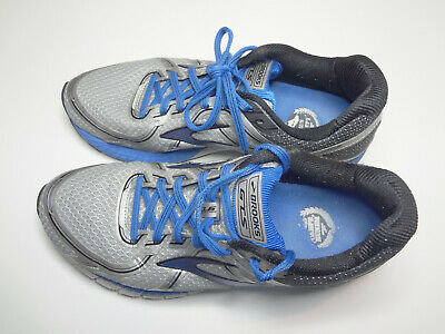 e12a5ef466789 BROOKS ADRENALINE GTS 16 Running Shoes Blue Gray Mens Size 9.5 ...