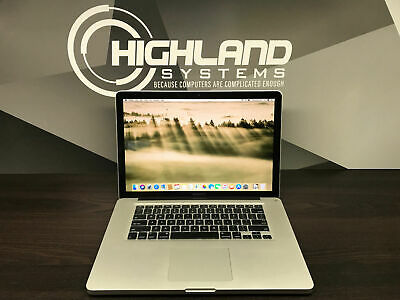 Apple Macbook Pro 15 / 1TB STORAGE / 3 Year Warranty / Intel Pre-Retina / 2.2GHZ