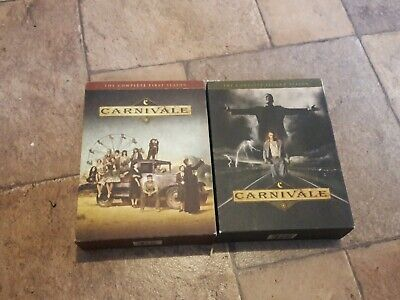 Carnivale Seasons 1 and 2 (Complete Series) DVD 10 Disc Set.