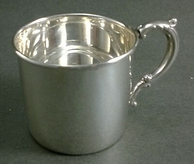 Empire Sterling Silver Plain Baby Cup