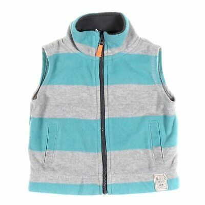 Carter's Baby Boys Vest, size 9 mo,  turquoise,  polyester