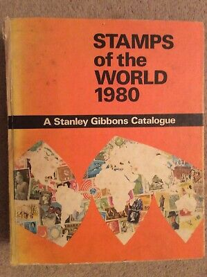 Vintage Stanley Gibbons Catalogue - Stamps Of The World 1980