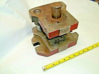 "Punch Press Commercial Die Set Shoe Two 1"" Diam. Posts, 1-1/2"" Diam. Shank"