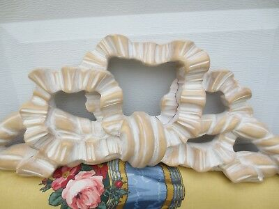 Carved French Provincial Queen Full Size Headboard Louis XVII RIBBON BOW