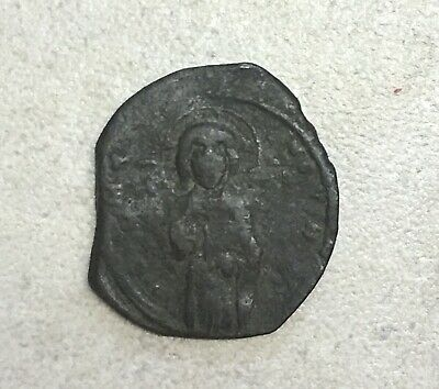 JESUS CHRIST Class C Anonymous Ancient 1034AD Byzantine Follis Coin BEAUTIFUL!
