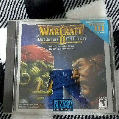 WARCRAFT II 2 Battle net Edition by Blizzard - $22 00 | PicClick