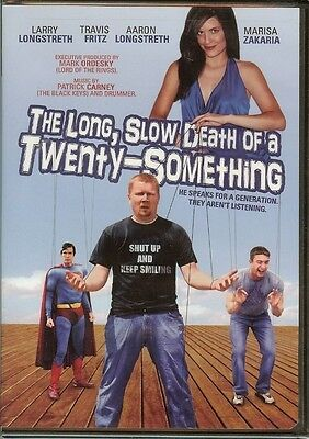 The Long, Slow Death of a Twenty-Something - DVD - NEW - FAST FREE SHIPPING !!!