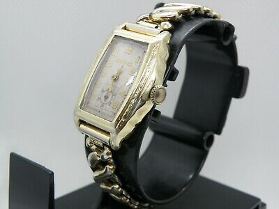 Serviced...art Deco  1930`S  Bulova   * Maxmim *...Etched Case,, Nice Dial Wow