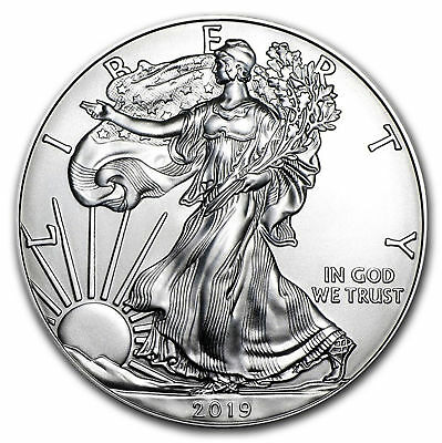 2019 1 Oz. American Silver Eagle Coin ***first Strike*** Not Grading Rejects
