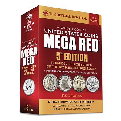 ***Shipping*** 2020 Official Red Book Of United States Coins - Mega-Red Edition
