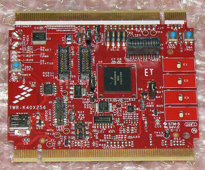 TWR-K40X256 Evaluation Board Kinetis K40, Capacitive Touch Pads, 28-Segment LCD