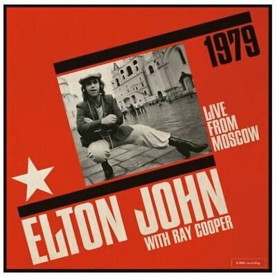 """ELTON JOHN - LIVE FROM MOSCOW - 2 x 12"""" VINYL - RSD 2019 - PREORDER - LIMITED"""