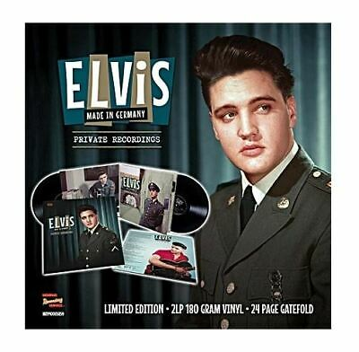 "ELVIS PRESLEY - MADE IN GERMANY - 2x12"" VINYL - RSD 2019 SPAIN PREORDER LIMITED"