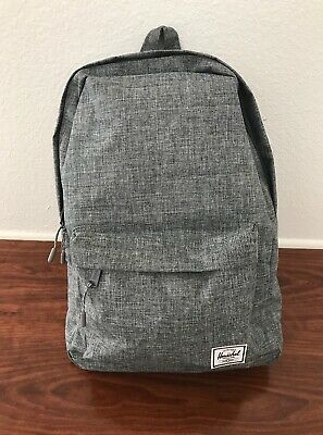e37a31ce91a HERSCHEL SUPPLY CO Classic Mid Volume Backpack in Raven Crosshatch ...